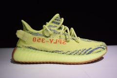 Yeezy350V2 semi frozen yellow