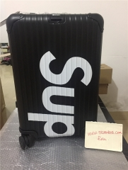 supreme suitcases black size 20 inch 26 inch  $515-530