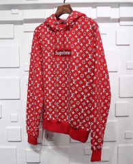 supreme x lv hoodies  size s-3xl
