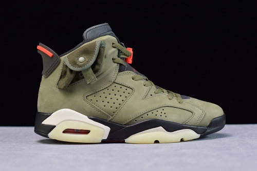 Travis Scott x Air Jordan 6 AJ6TS 3M