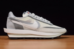 sacai x Nike LDWaffle In White/Grey