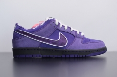 SB dunk purple