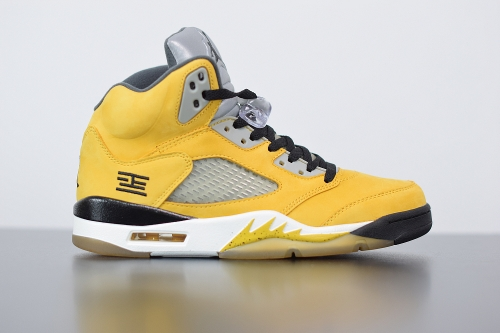air jordan 5 yellow